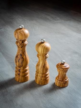 Bistro Pepparkvarn i Olivträ 10cm