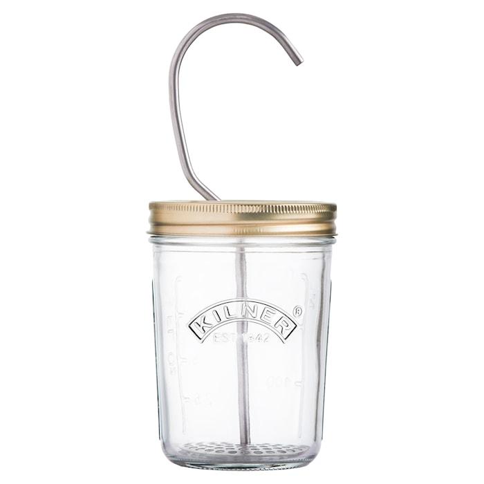 Majonäs Maker Set Glas/Rostfritt Stål