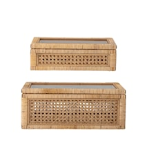 Box Nature Rattan 2er-Set