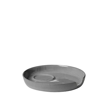 Tisvilde Underlägg till Espresso-/Äggkopp Grå Porslin