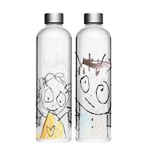 Vannkaraffel Glass 1 Liter