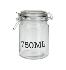 Glasdåse 750 ml
