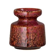 Kynttiläjalka Kivitavaraa Ø 7 cm - Punainen