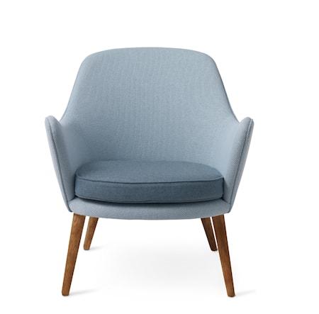 Dwell Lounge Chair Light sky/Light steel blue Merit/Rewool