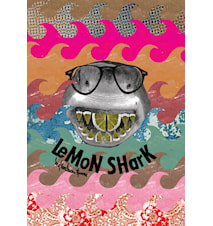 Lemon shark plakat