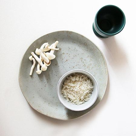 Bold & Basic Keramik Mugg Grön