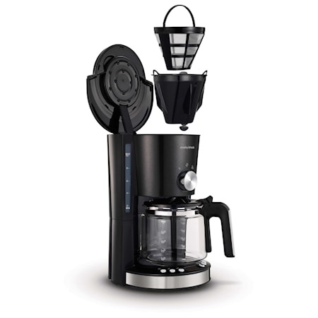 Kaffebryggare Evoke Svart