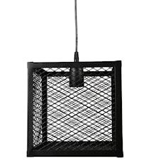 Taklampa Grid Svart 23cm