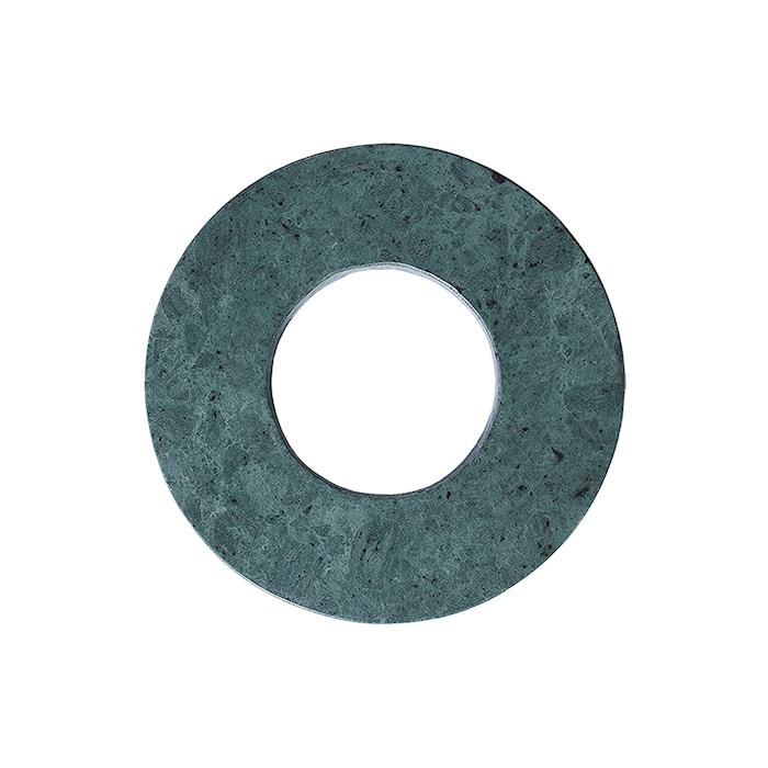 Grytunderlägg Marmor 22cm Grön