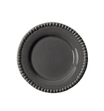 DARIA Desserttallerken Grå 22 cm
