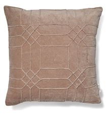 Delhi Kuddfodral Simply Taupe 50x50 cm