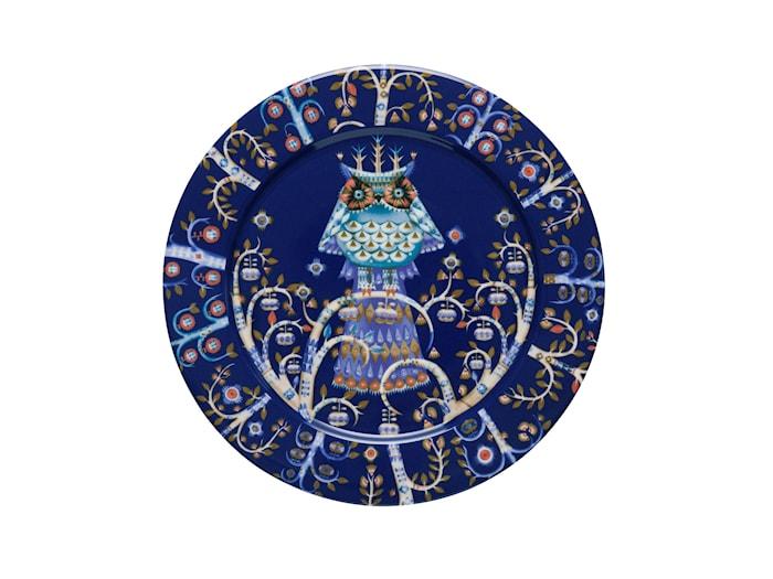 Taika Tallerken 27 cm blå