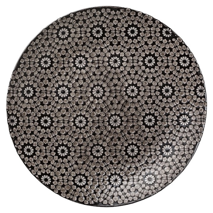 Abella lautanen musta 27 cm