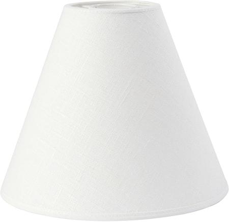Ylärengas lampunvarjostin Pellava Offwhite 22 cm