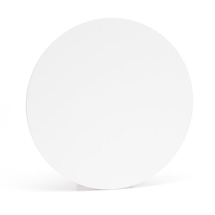 Vägglampa Cirkel vit