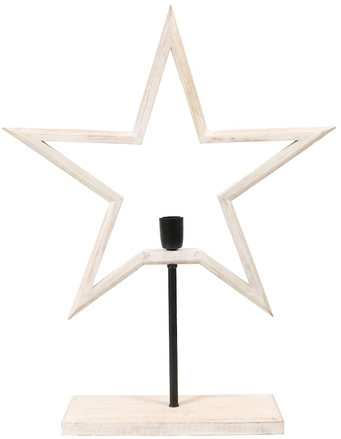 Farm Stjärna on Base Vit 65cm