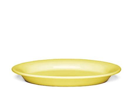 Ursula Oval tallrik 22x15,5 cm gul (13093)