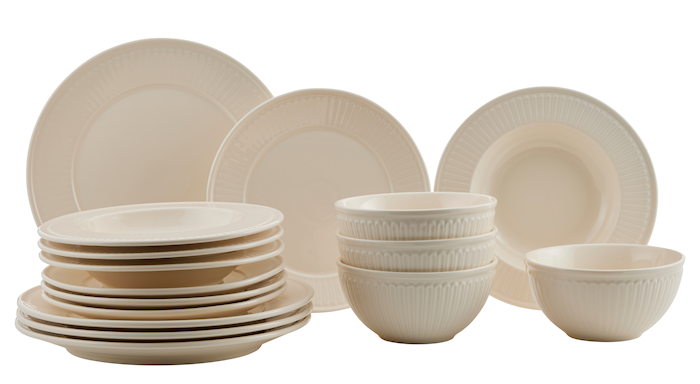 Fålhagen Porcelain Set 16 Pcs Sand