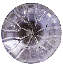 Glass Knob round Ø 3 cm - Purple