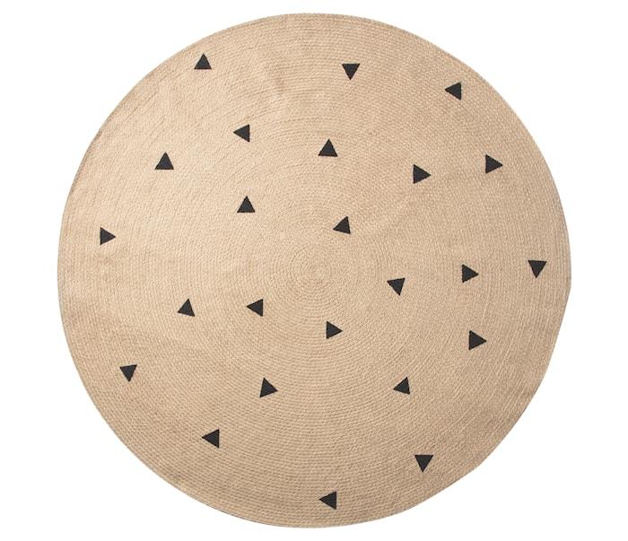 Jutematta Large Black Triangles