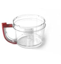 Arbeidsskål rød, 2,8 liter