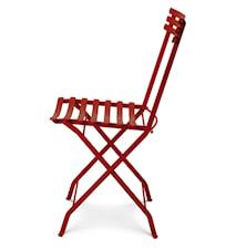 Flower folding stol - Röd