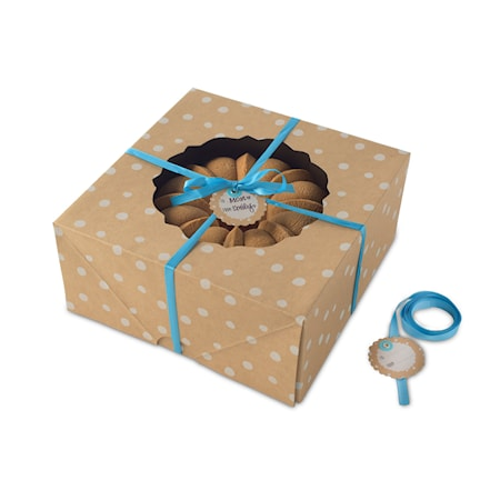 Presentkartong Tårta 2-pack