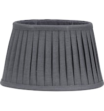 Indi Lampeskjerm Plissé Grey 20 cm