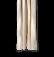 Chambray Duschdraperi Sand/Off-white