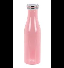 Termoflaske, Rustfri stål, 0,5L, Rosa