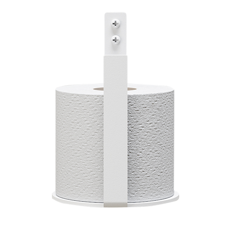 Toalettpappershållare Extra Vit
