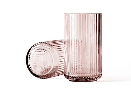 Lyngby Vas Burgundy Munblåst Glas H38 cm