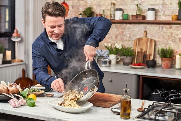 Jamie Oliver Cook's Classic Stekepanne Ø30 cm Rustfritt stål