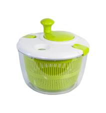 Salat slynge Stor grønn / hvit rommer 4 liter