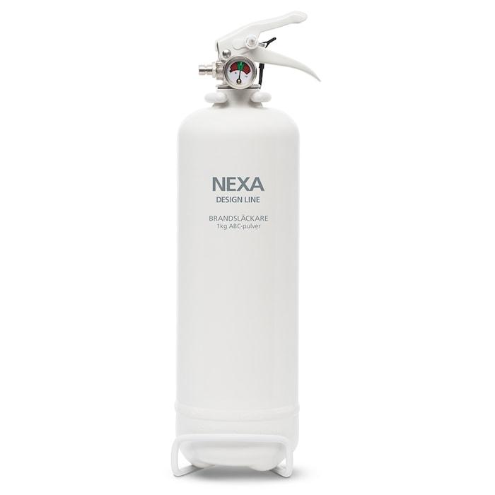 Nexa Fire & Safety Brandsläckare Vit 1kg 8A