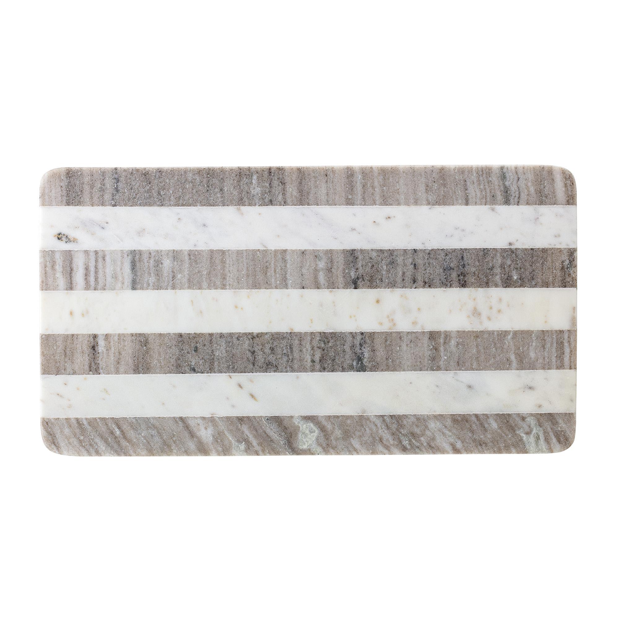 Serveringsbräda Marmor/Trä 52×28 cm