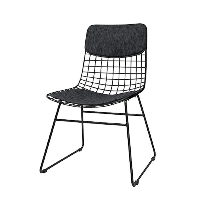 Wire Stol Comfort Kit Svart