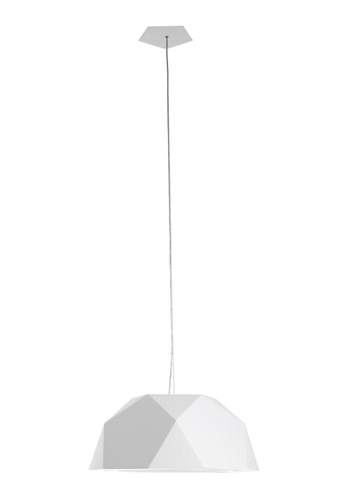 Crio Ø57 taklampa – Vit