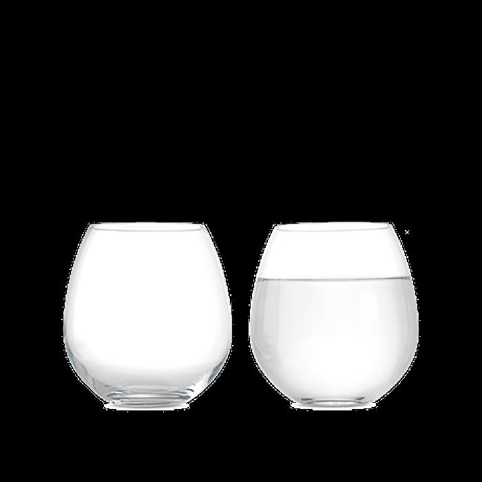 Premium Vattenglas 52 cl klar 2 st