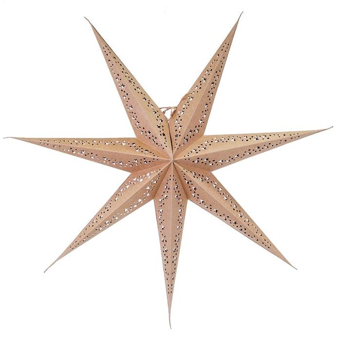 Vintergatan Julstjärna Natur 80 cm
