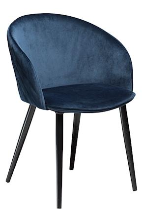 Stol Dual Velour - Midnight Blå