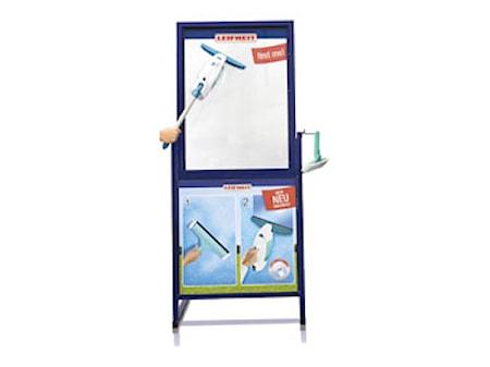Dry&Clean Testfönster Blå
