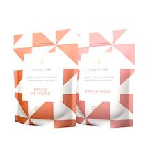 Doftljus Refill Peche De Vigne/ Amber Rose 2-Pack