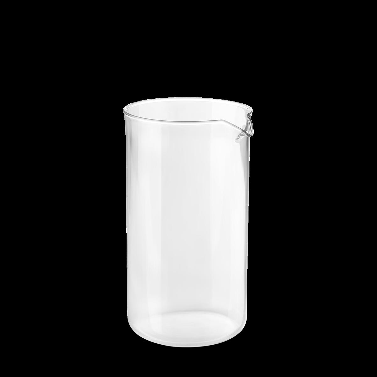 Coffee plunger glass 1 L klar
