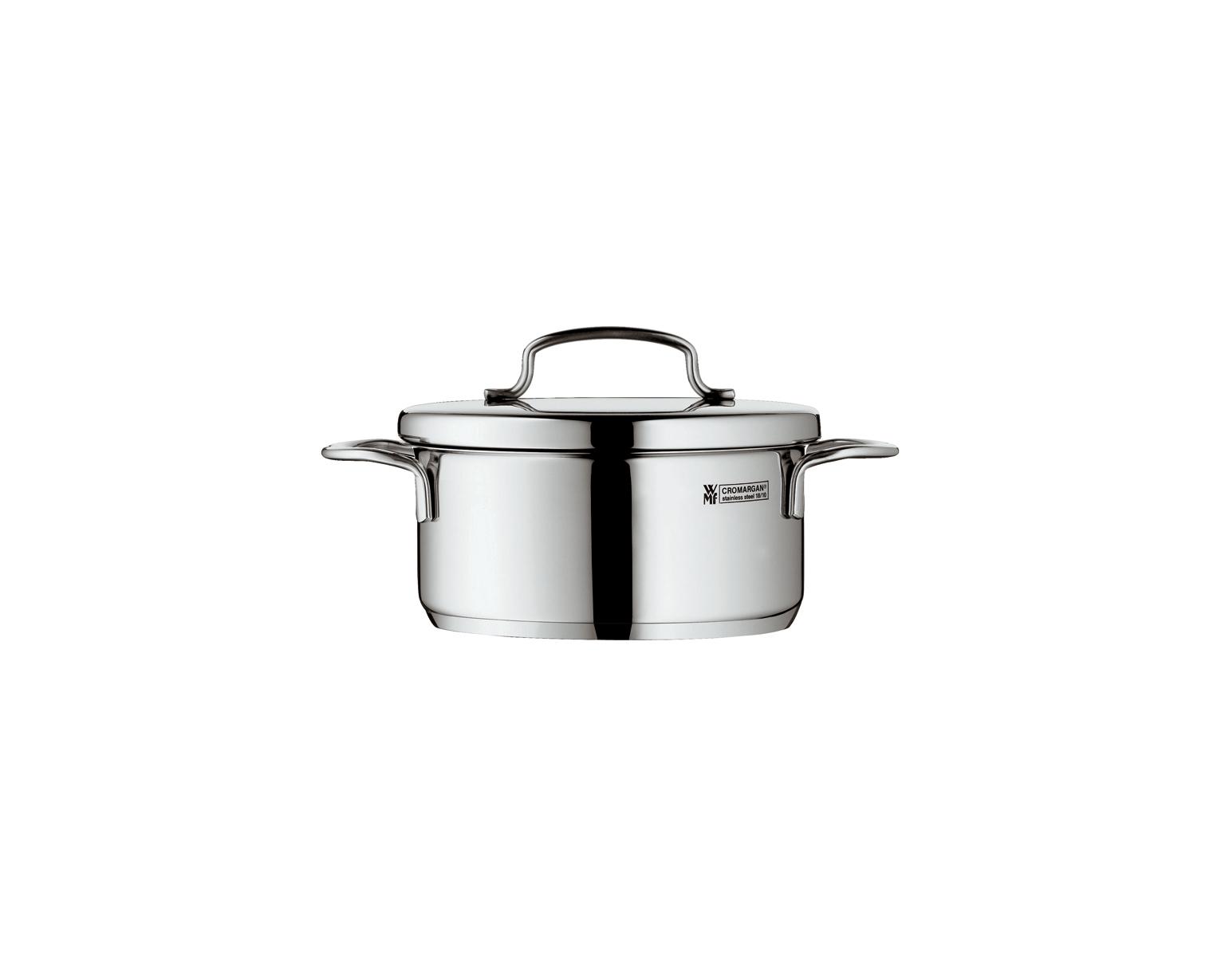 Mini Cook Låg Gryta 07L med lock Stål