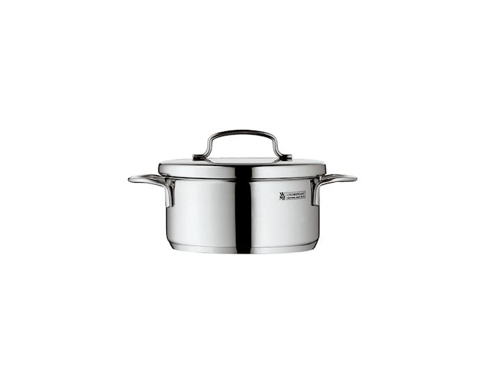 Mini Cook Låg Gryta 0,7L med lock, Stål