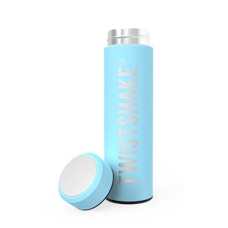 Twistshake Hot or Cold Bottle 420 ml, Pastel Blue
