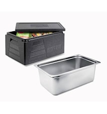 Sous Vide Canteen Stainless Steel with Thermobox