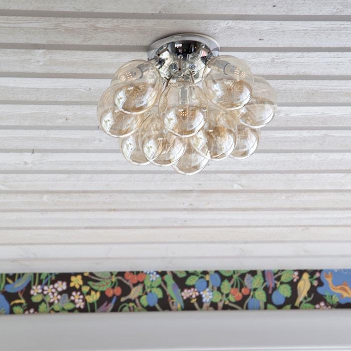 Plafond Gross Ø30cm Rökgrå