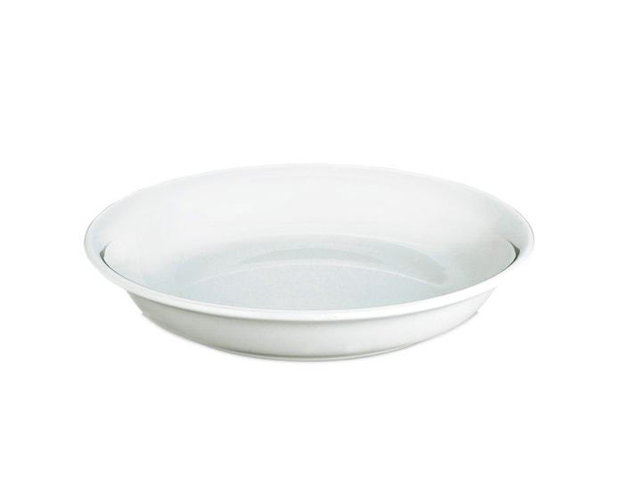 Bourges tallerken dyb hvid, Ø 21 cm